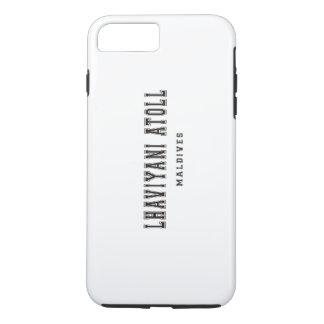 Lhaviyaniの環礁モルディブ iPhone 8 Plus/7 Plusケース