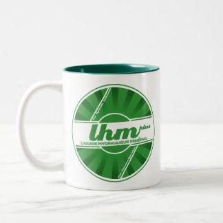LHM油圧液体ロゴのマグ(関連するシトロエン) ツートーンマグカップ