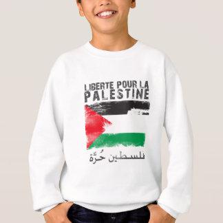 Libertéは注ぎますlaパレスチナ(filistinのhurra)を スウェットシャツ