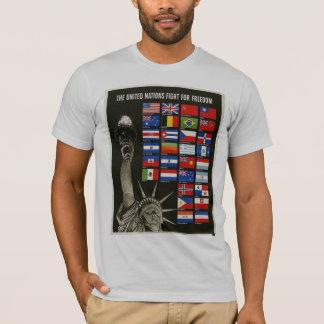 Liberty女性世界大戦2 Tシャツ