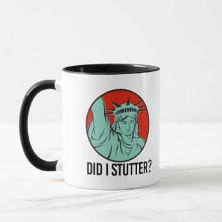 Liberty女性-私はどもります- マグカップ
