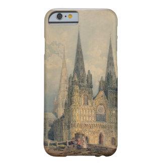 Lichfieldのカテドラル、(犬)スタッフォード1794年(w/c Barely There iPhone 6 ケース