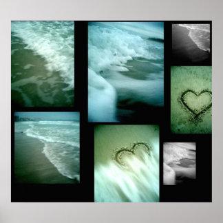 Lidoのビーチ、Sarasota ポスター