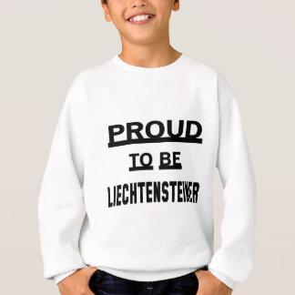 Liechtensteinerがあること誇りを持った スウェットシャツ