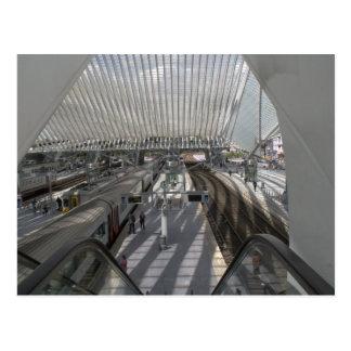 Liège-Guilleminsの駅 ポストカード