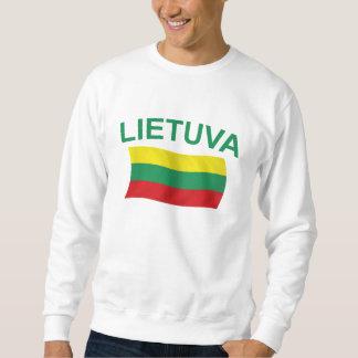 Lietuva (リスアニア)緑Ltrs スウェットシャツ