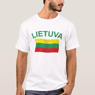 Lietuva (リスアニア)緑Ltrs Tシャツ