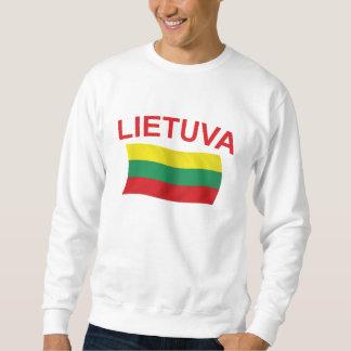 Lietuva (リスアニア)赤いLtrs スウェットシャツ
