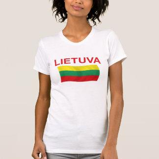 Lietuva (リスアニア)赤いLtrs Tシャツ