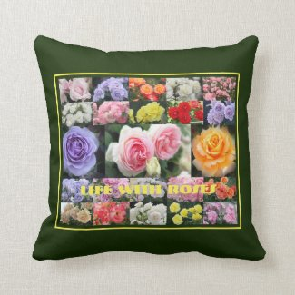 Life with Roses:Cushion クッション