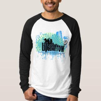 LifesArrowの再結集のワイシャツ(メンズ)のL袖 Tシャツ