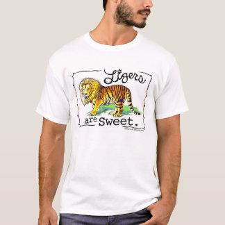 Ligersは甘いTシャツのデザインです Tシャツ
