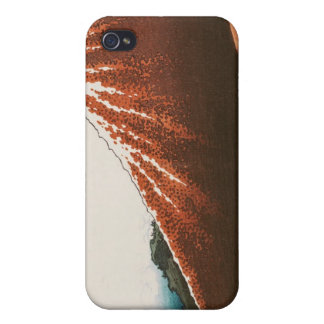 Lightningの上の富士 iPhone 4 ケース