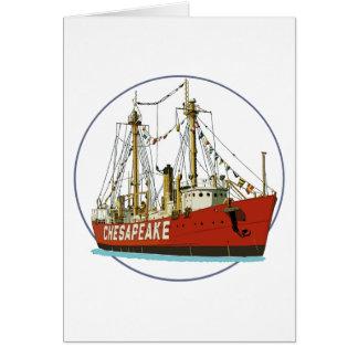 Lightshipのチェサピーク カード