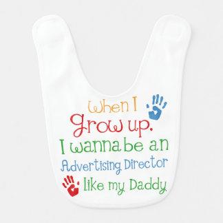 Like My Dad広告ディレクターベビー用ビブ ベビービブ