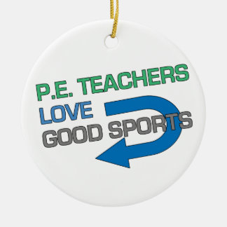 Like P.E. Teachersのよいスポーツ セラミックオーナメント