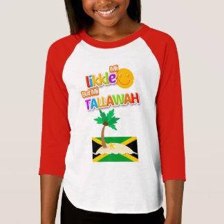 Likkleジャマイカの子供の「Tallawah」のTシャツ Tシャツ