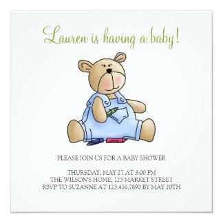 Lilくま · 男の赤ちゃんのクレヨン カード