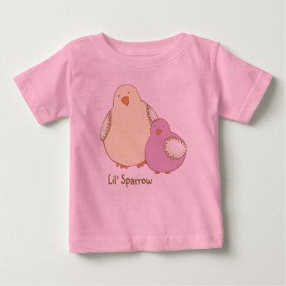 """Lilのすずめの幼児""""T """" ベビーTシャツ"""