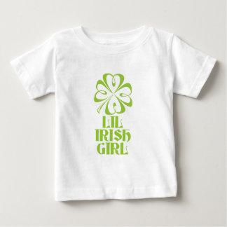 Lilのアイルランド人の女の子 ベビーTシャツ