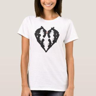 lilのハートのピストルハート tシャツ