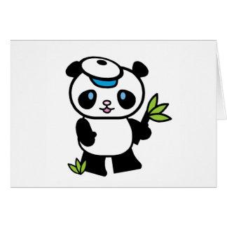 Lilのパンダの男の子 カード