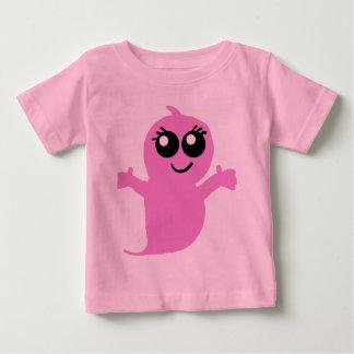 Lilのピンクの幽霊のワイシャツ ベビーTシャツ