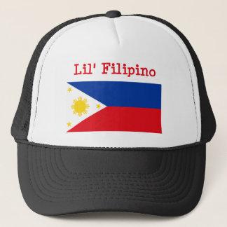 Lilのフィリピン人の帽子 キャップ