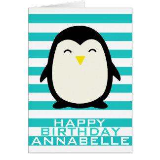 Lilのペンギン グリーティングカード