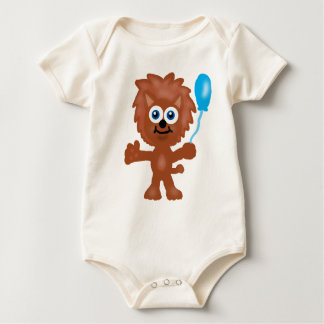 LilのライオンのTシャツ ベビーボディスーツ