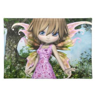 Lilの妖精のプリンセスのランチョンマット ランチョンマット