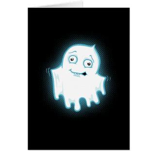 Lilの幽霊のハロウィンのデザイン カード