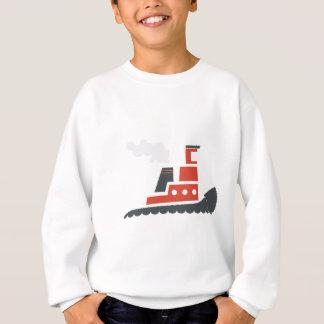 Lilの赤のタグボート スウェットシャツ
