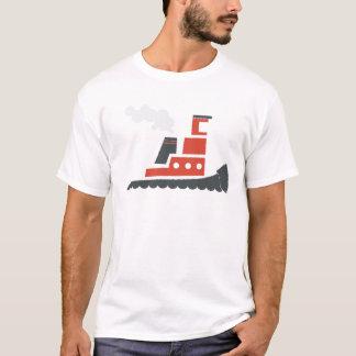 Lilの赤のタグボート Tシャツ