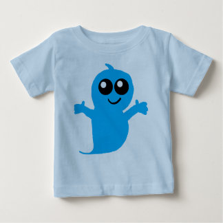 Lilの青い幽霊のワイシャツ ベビーTシャツ