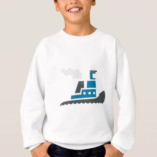 Lilの青のタグボート スウェットシャツ
