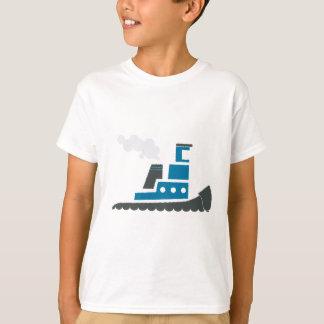 Lilの青のタグボート Tシャツ