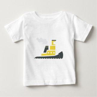 Lilの黄色いタグボート ベビーTシャツ