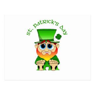 LilのBlarney St patricks day ポストカード