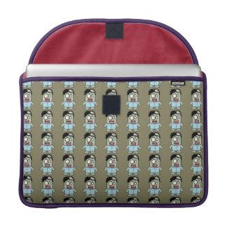 Lilモンスターのゾンビハロウィン MacBook Proスリーブ