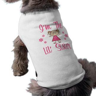 Lil Sisのピンクの女の子 ペット服
