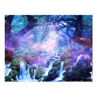 Lilannahの滝 ポストカード