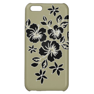 LilikoiのハイビスカスのハワイアンのiPhone 5cケース iPhone5Cケース