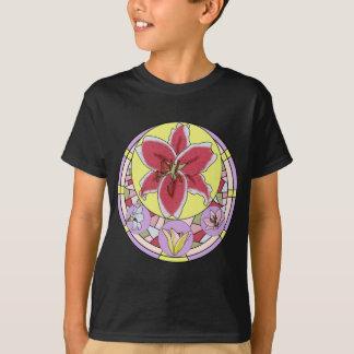 Lillyのステンドグラス Tシャツ