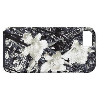 Lillyの白黒花 iPhone SE/5/5s ケース