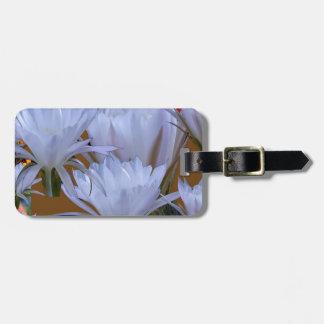 Lillyの野生の白い花:  自然のすばらしい世界 ラゲッジタグ