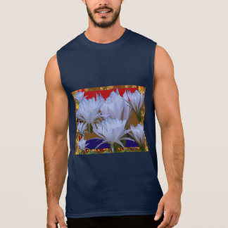 Lillyの野生の白い花:  自然のすばらしい世界 袖なしシャツ