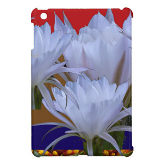 Lillyの野生の白い花:  自然のすばらしい世界 iPad miniケース