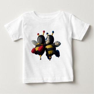 Lilly及びJoey -乳児、Tシャツ ベビーTシャツ