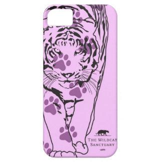 Lilly -トラのiPhone 5つの場合のピンクの足 iPhone SE/5/5s ケース